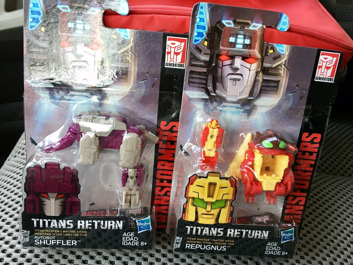 Transformers News: Titans Return Wave 4 Titan Masters Spotted in US