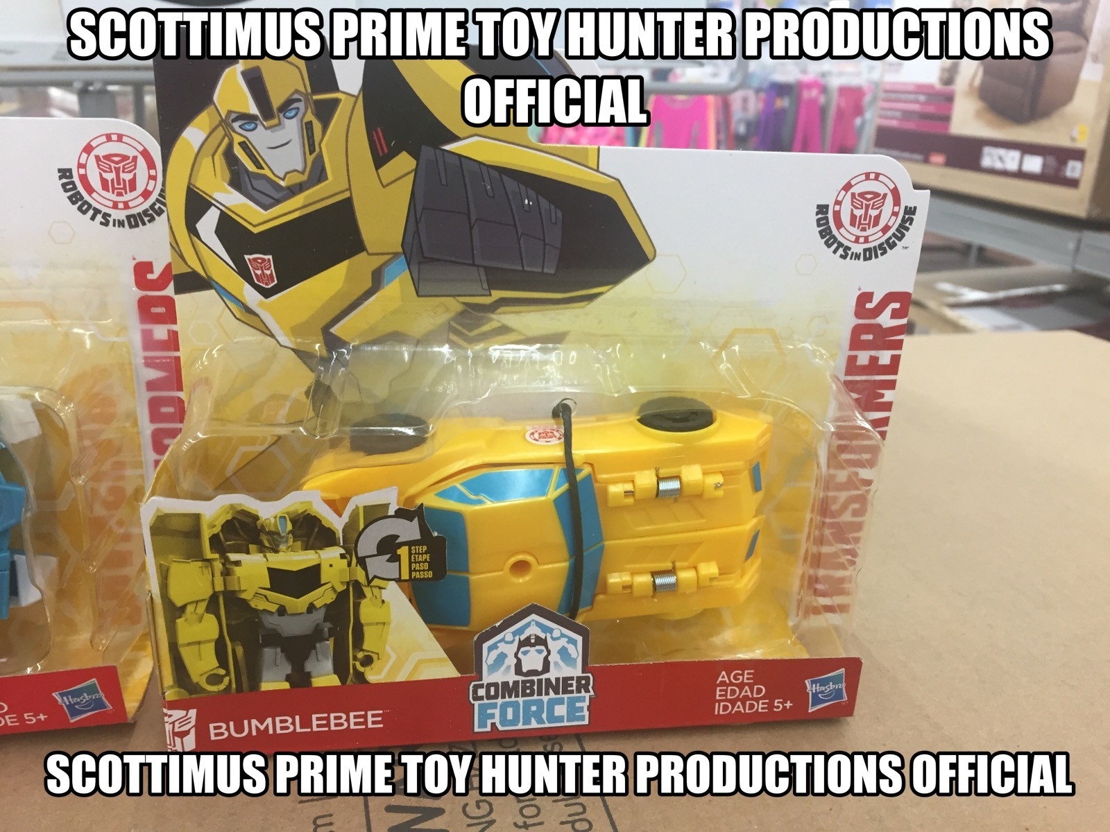 Transformers News: Re: Transformers Robots in Disguise (2015) Products Thread