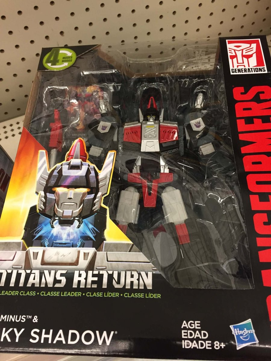 Transformers News: Titans Return Leader Sky Shadow Found at Walmart in Canada