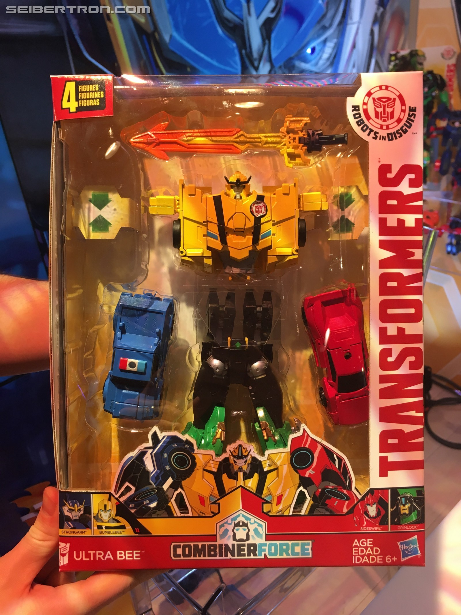 Transformers News: Toy Fair 2017 Showroom Images of Transformers Robots in Disguise Combiner Force #HasbroToyFair #TFNY
