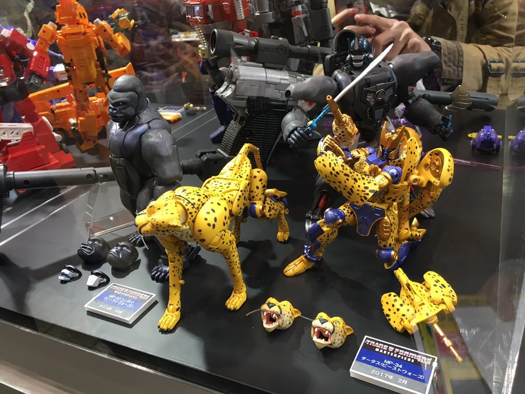Transformers News: Wonderfest 2017 - Takara Tomy Masterpiece Cheetor Images #tfワンフェス17w