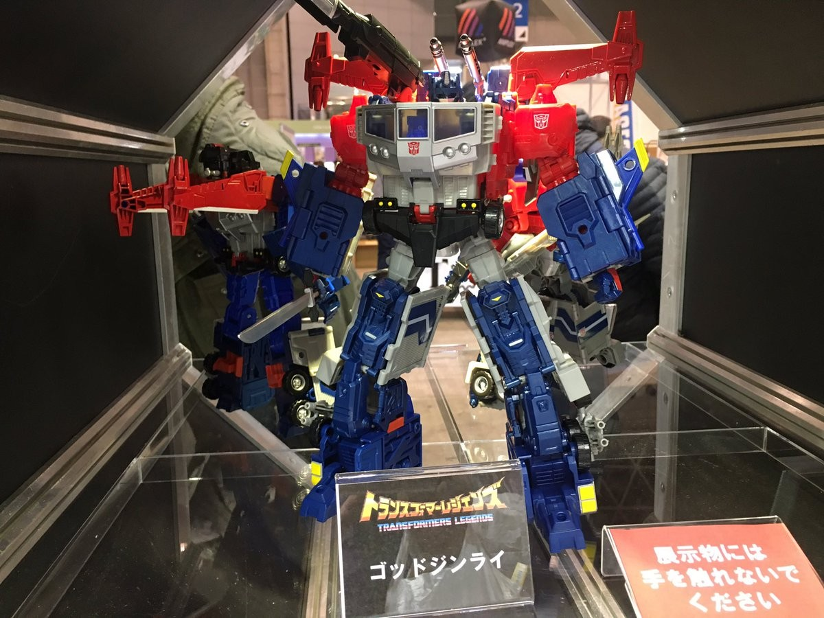 Transformers News: Wonderfest 2017 - New Images of Takara Tomy Transformers Godbomber #TFワンフェス17w