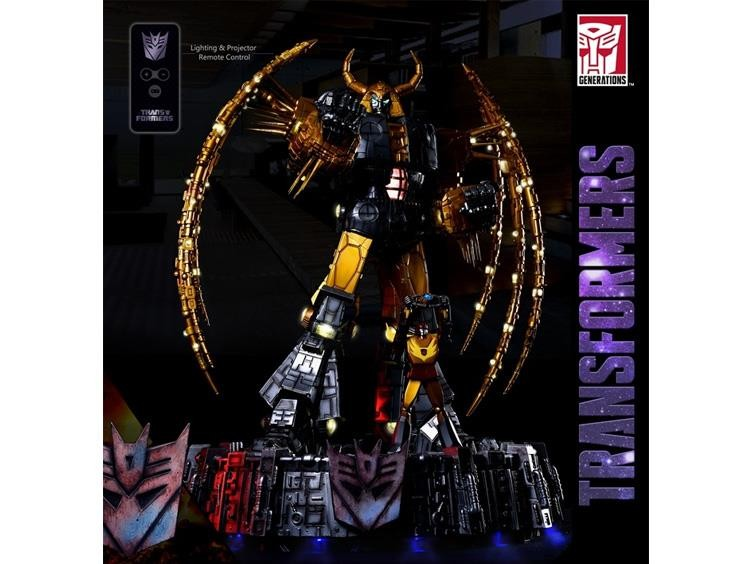 Transformers News: Generation 1 Unicron Lamp Listed for Pre-Order, Price Given