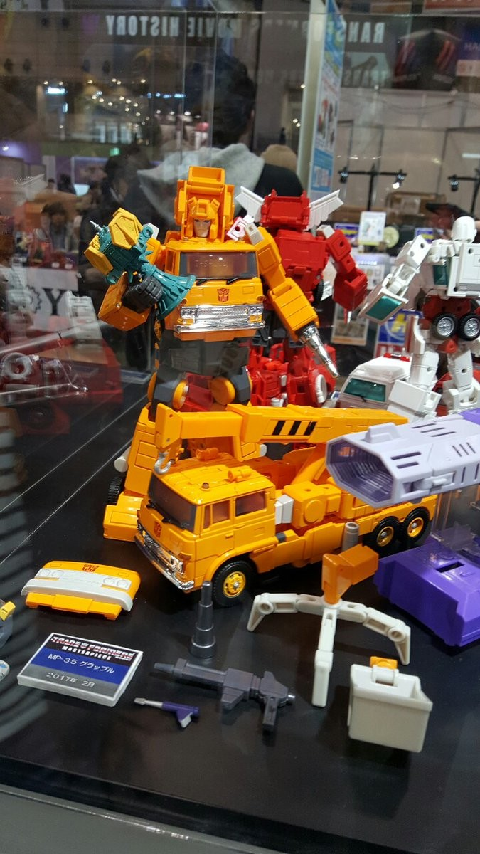 Transformers News: Wonderfest 2017 - Transformers Masterpiece MP-35 Grapple