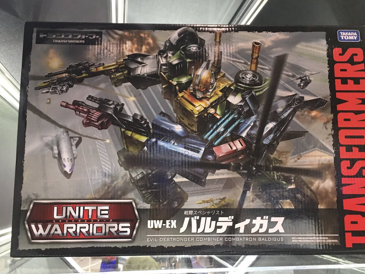 Transformers News: Wonderfest 2017 - Takara Transformers Unite Warriors UW-EX Baldigus