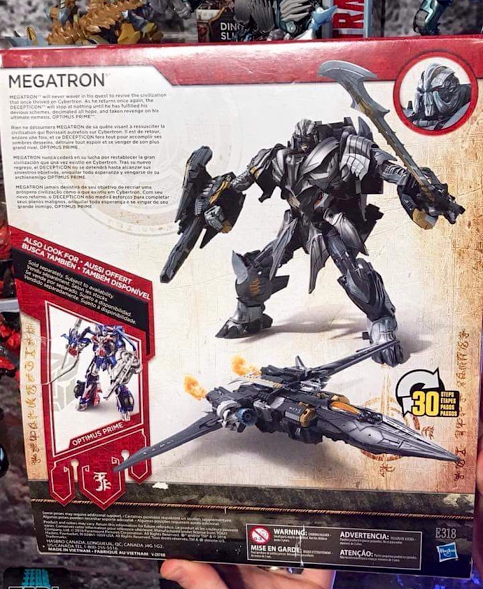 Transformers News: Transformers: The Last Knight Leader Megatron Complexity and Bio Revealed