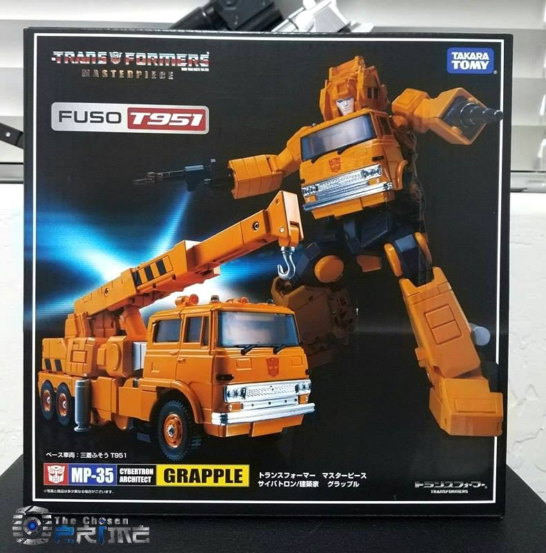 Transformers News: In-Hand Images of Transformers Masterpiece MP-35 Grapple