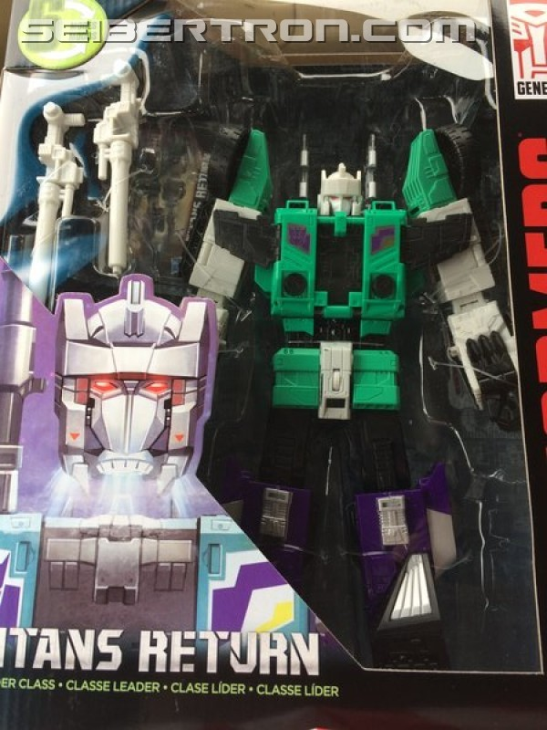 Transformers News: Titans Return Leader Sixshot Found at US Retail