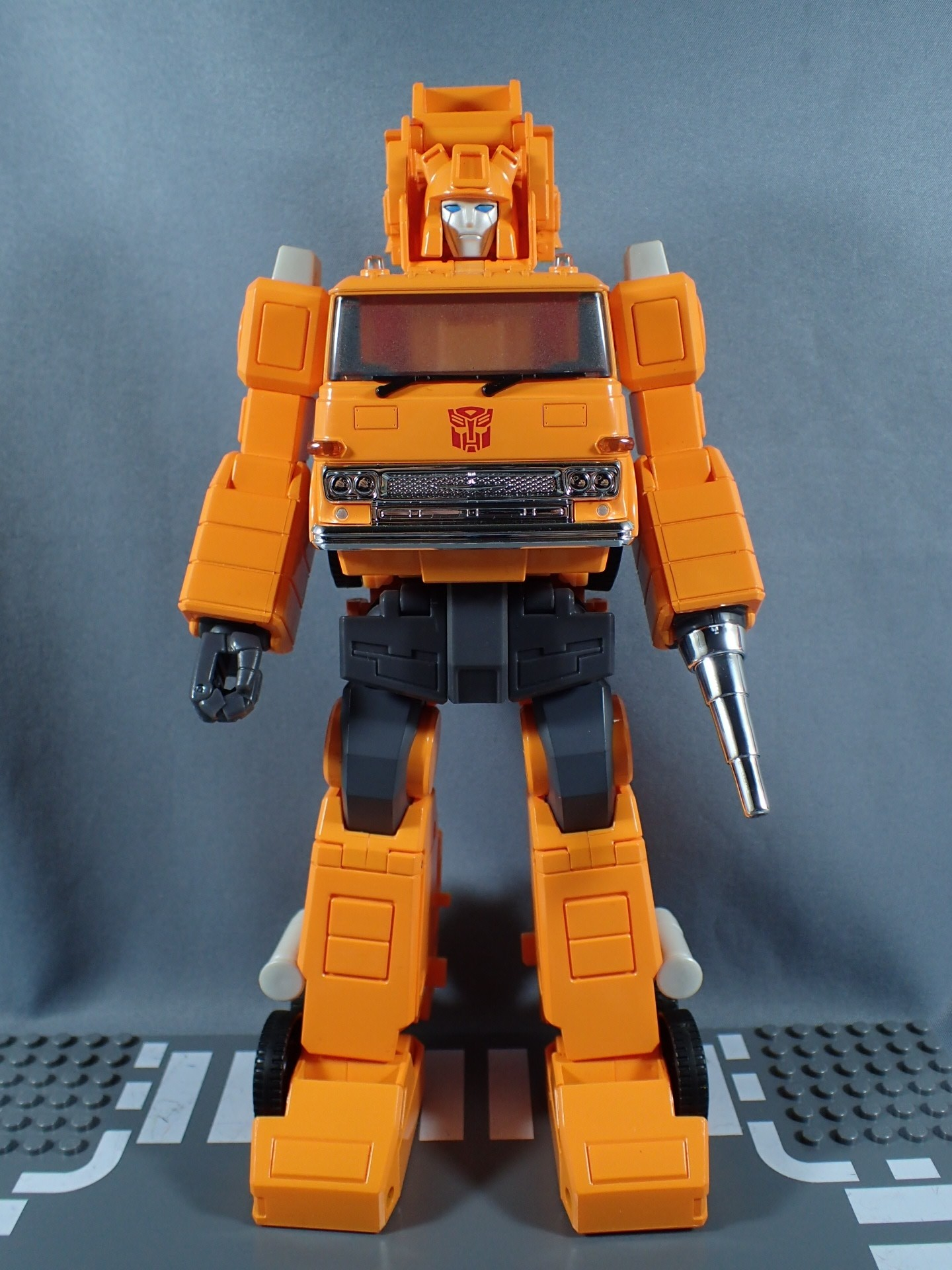 Transformers News: More Images and Video Review of Transformers Masterpiece MP-35 Grapple