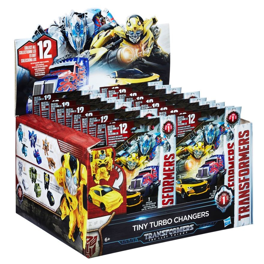 transformers the last knight turbo changers blind bags available at smyths. Black Bedroom Furniture Sets. Home Design Ideas