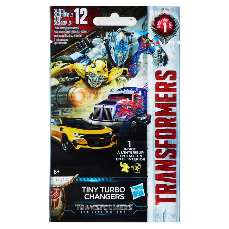 Transformers News: Transformers The Last Knight Turbo Changers Blind Bags available at Smyths