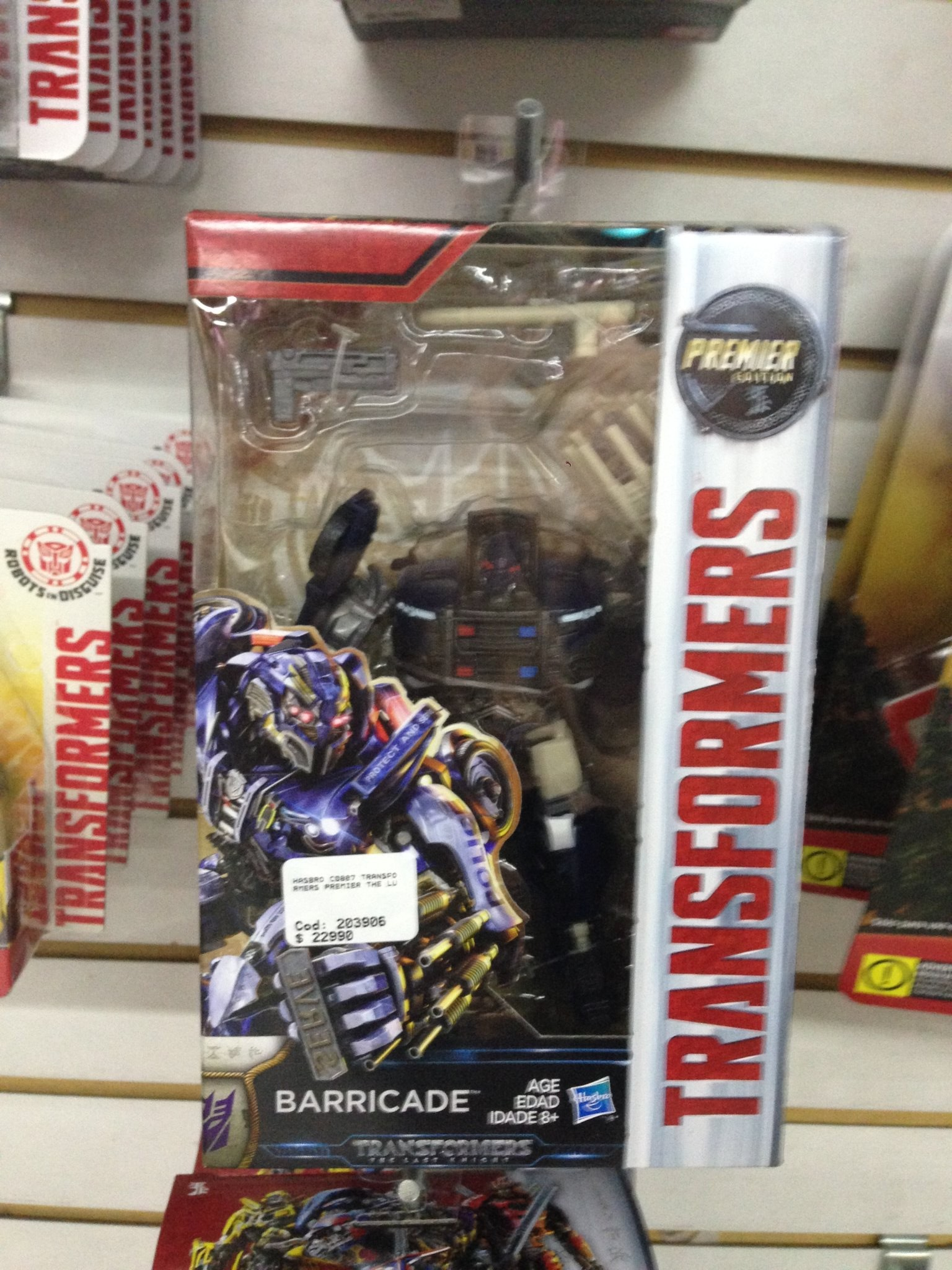 Transformers News: The Last Knight Premier Edition Deluxes Spotted In Chile