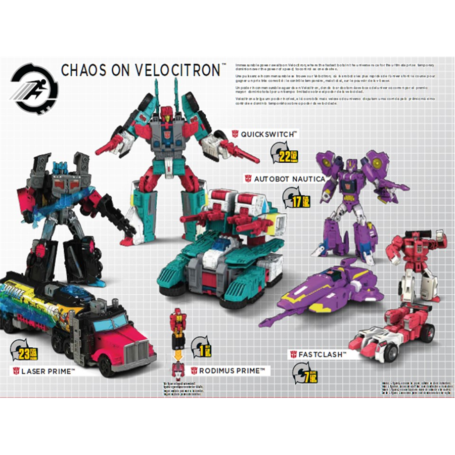 Transformers News: New Images of Titans Return Speed Boxset Chaos on Velocitron