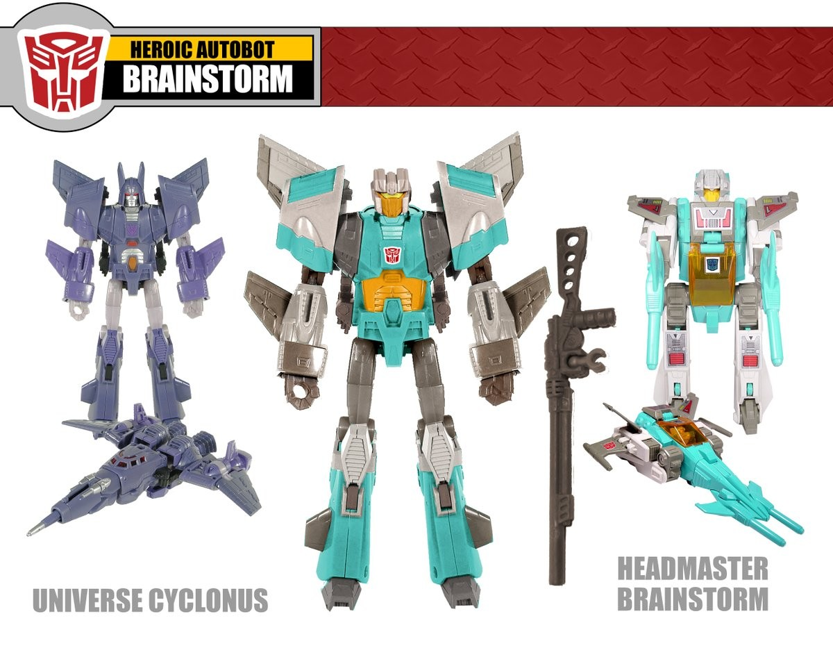 Transformers News: Old Fun Publications Figure Concepts - Nightbeat, Brainstorm, Crosshair, Triggerhappy