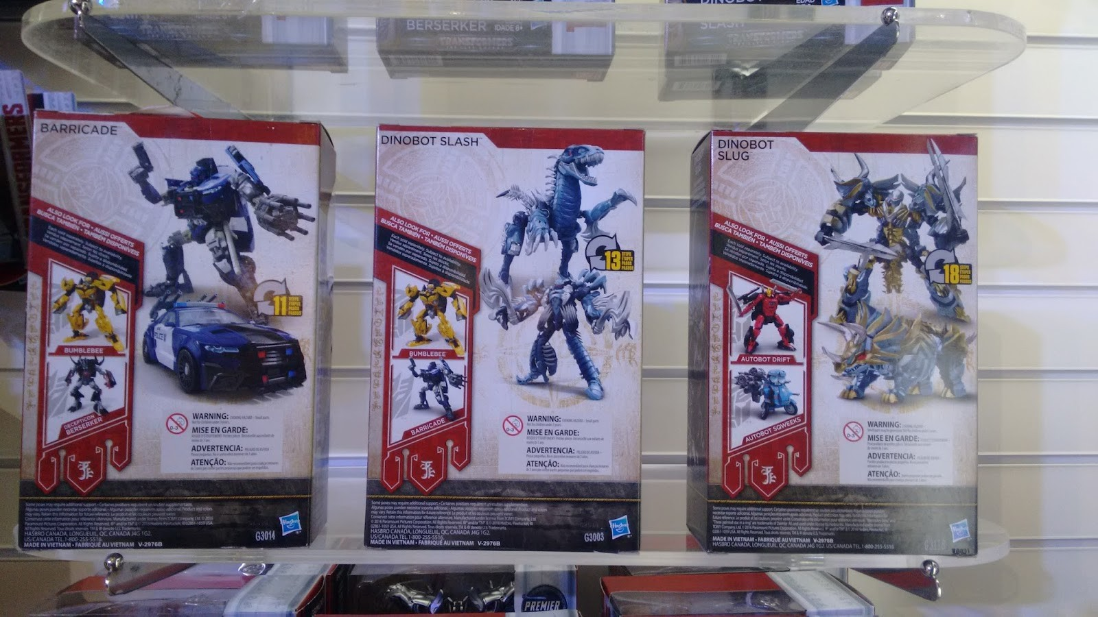 Transformers News: More Transformers: The Last Knight Toys Images from Abrin 2017