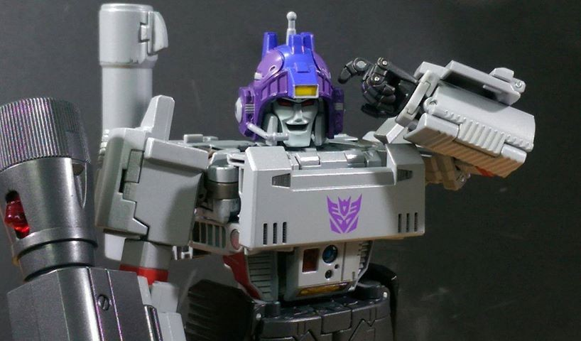 Transformers News: Video Review and In-Hand Images of Takara Tomy Transformers Masterpiece MP-36 Megatron