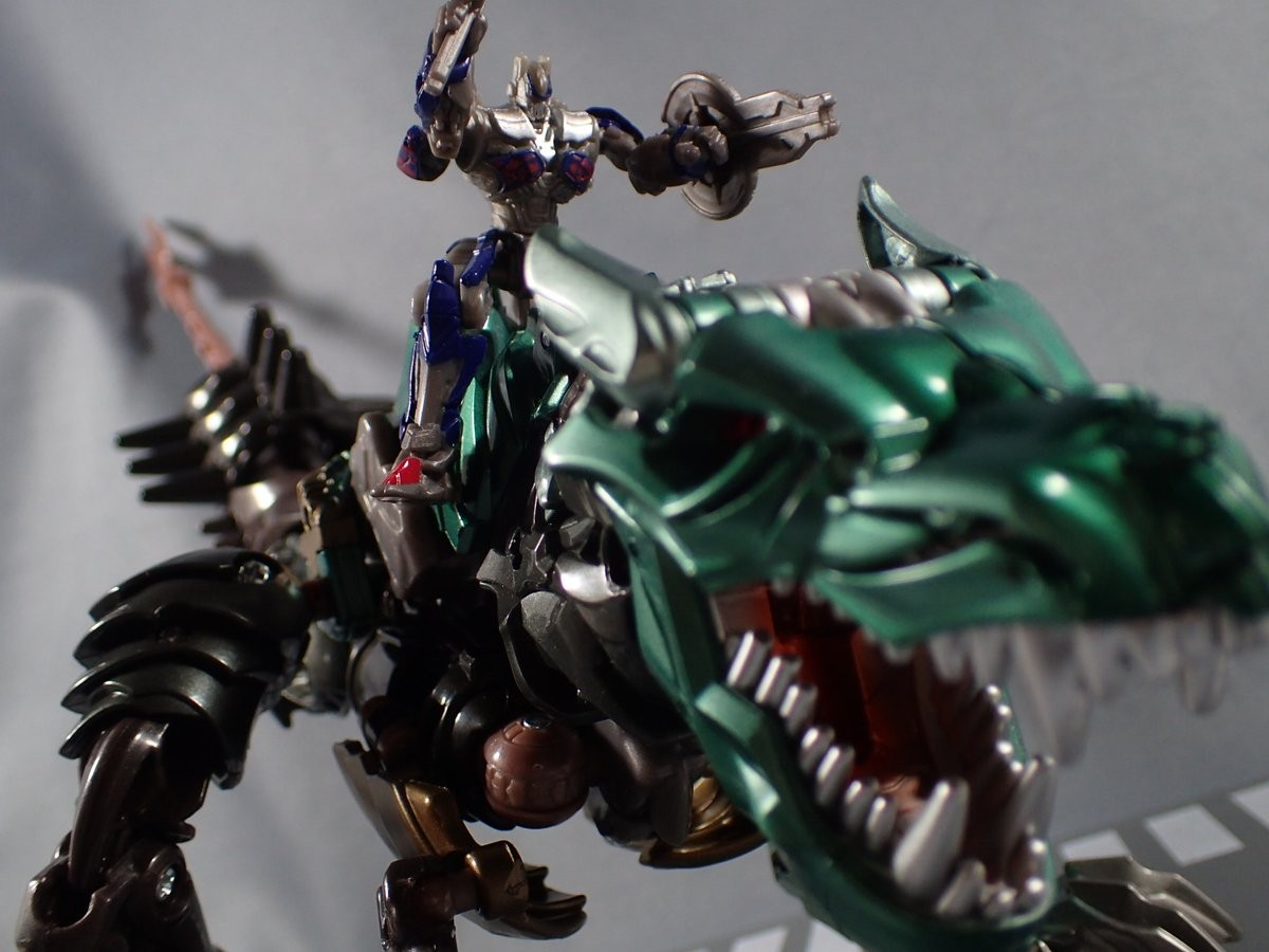 Transformers Age Of Extinction Dinobot Optimus Prime