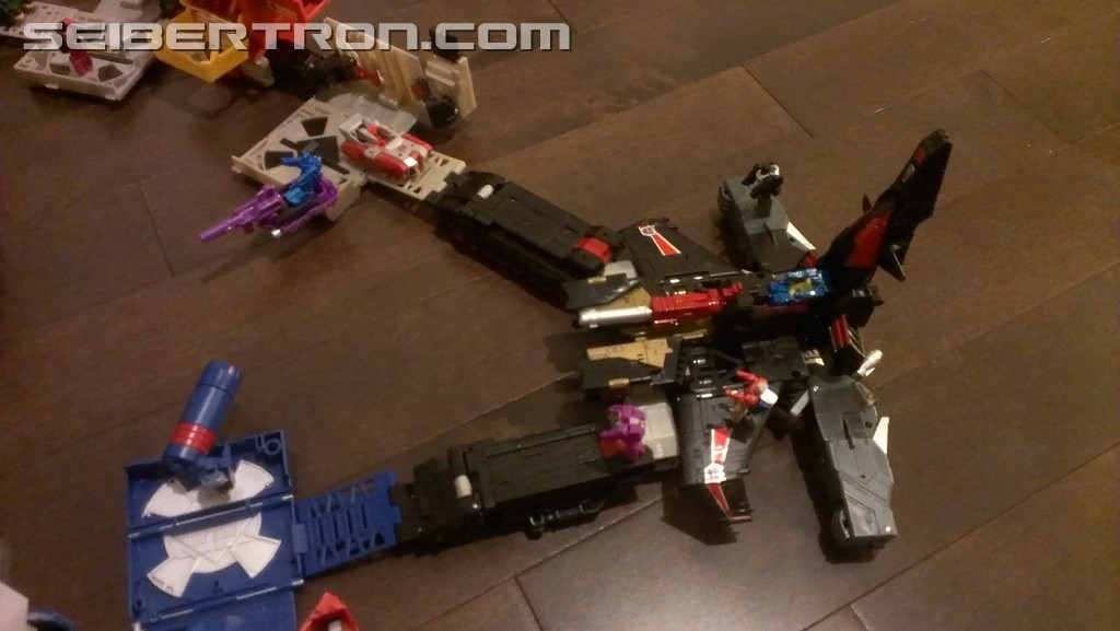Transformers News: Images of Sky Shadow Connected With Other Titans Return Bases In Different Configurations