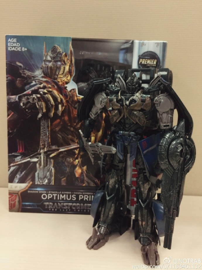 Transformers News: In Hand Images of Asia Exclusive Shadow Spark Optimus Prime from Transformers: The Last Knight