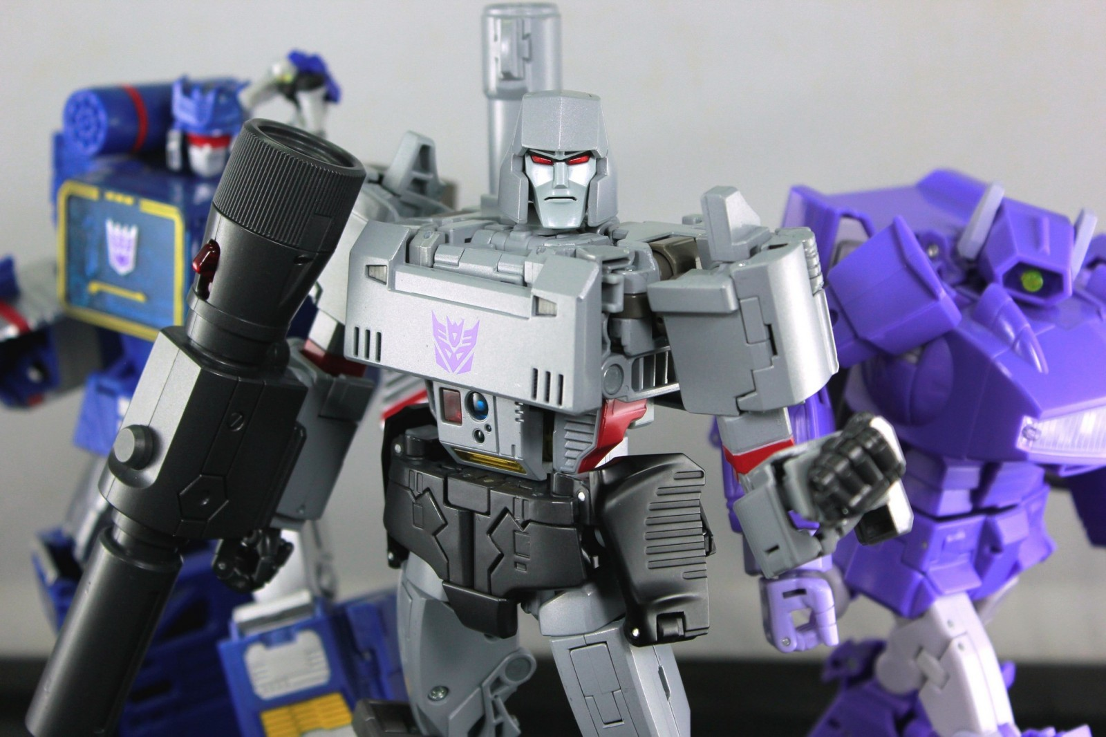Transformers News: In Hand Images of Takara Tomy MP-36 Masterpice Megatron