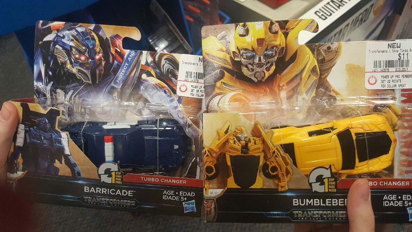 Gamestop Now Has the First Wave One Steps from Transformers