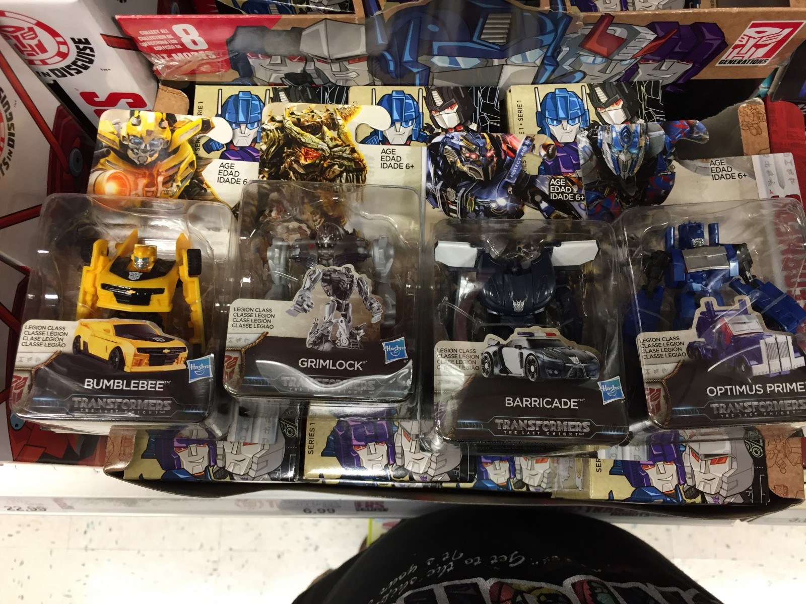 Transformers News: Transformers: The Last Knight Legends Class Figures and Tiny Turbo Changers Sighted at US Retail