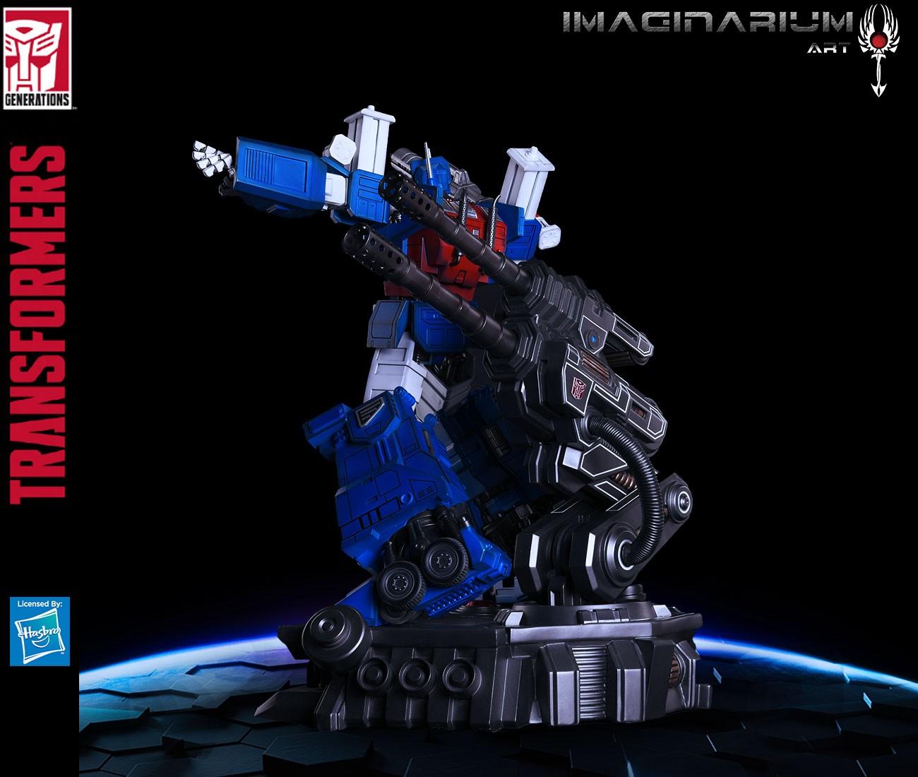 Transformers News: New Images of Imaginarium Art Transformers Ultra Magnus Statue