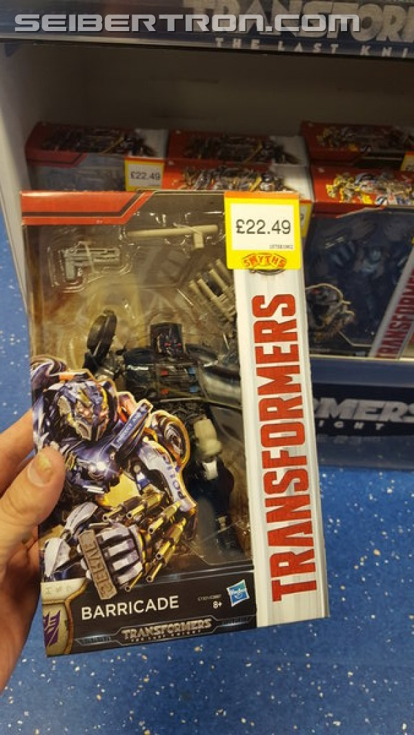 Transformers News: Transformers: The Last Knight Toys Sighted at UK Retail