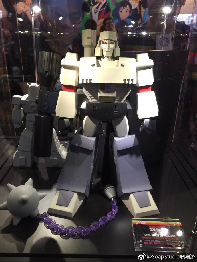 Transformers News: Soap Studio Transformers Collection: G1 Megatron & Starscream