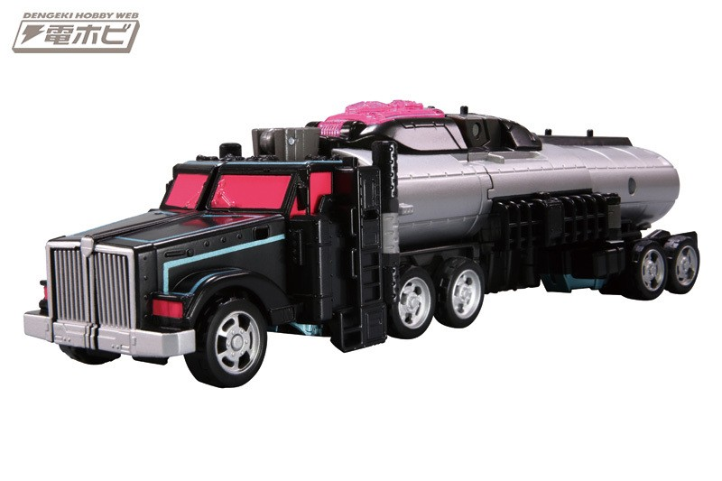 Transformers News: New Images - Takara Legends LG-EX Black Convoy
