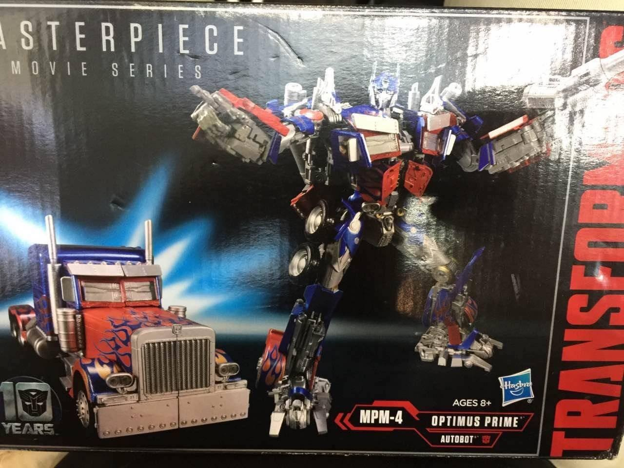 Transformers News: New Images of Transformers Movie Masterpiece MPM-4 Optimus Prime