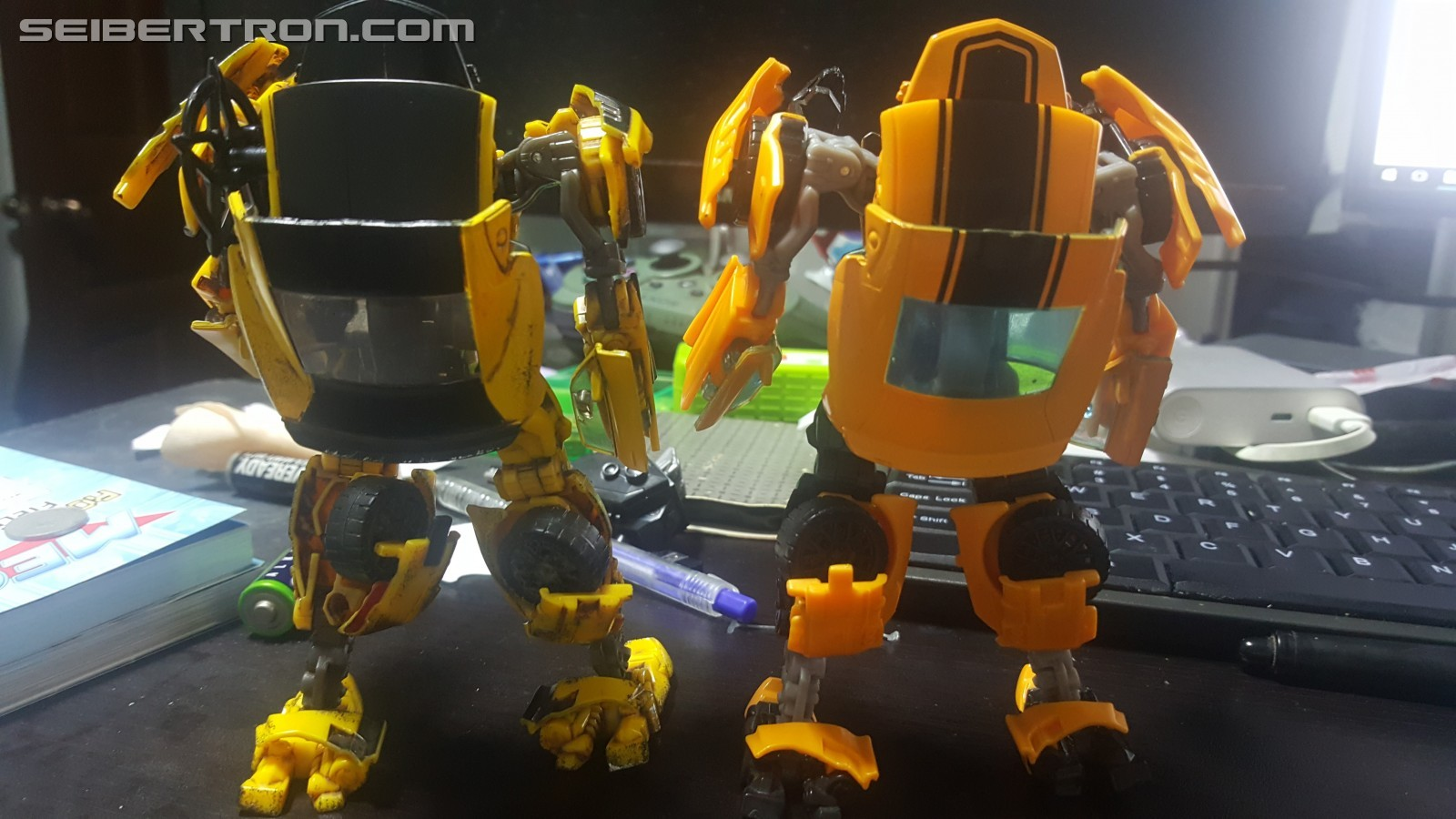 Transformers News: New Image of Limited Edition Battle Damage Bumblebee from Hasbro Singapore Midnight Madness Event