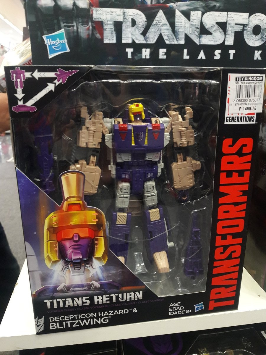 Transformers News: Transformers Titans Return Ramhorn, Blitzwing, Octone Released in Philippines
