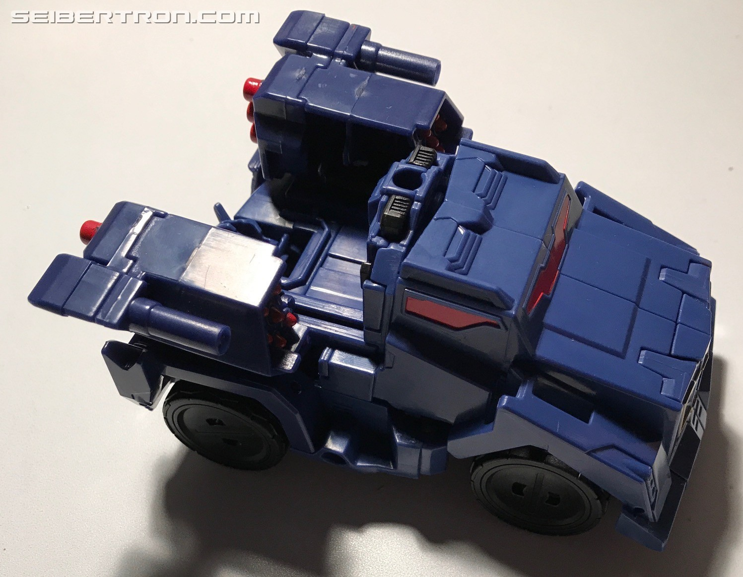 Transformers News: Pictorial Review of Transformers: Robots in Disguise Combiner Force Activator Soundwave