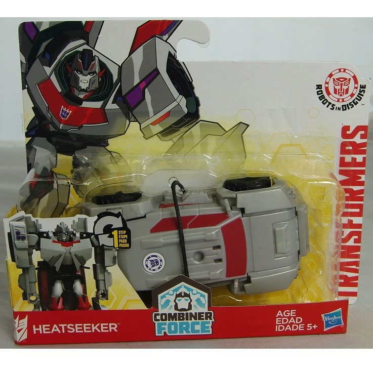 Transformers News: New Robots in Disguise One Steps Revealed with New Strongarm (3rd mold) and Heatseeker