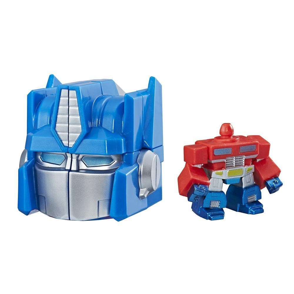 Transformers News: Optimus Prime Rubik's Crew Puzzle Head Now Available at HasbroToyShop!