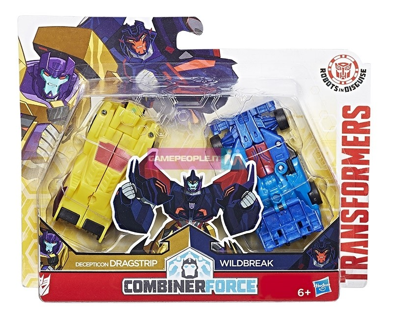 Transformers News: Robots in Disguise Combiner Force Dragbreak Revealed
