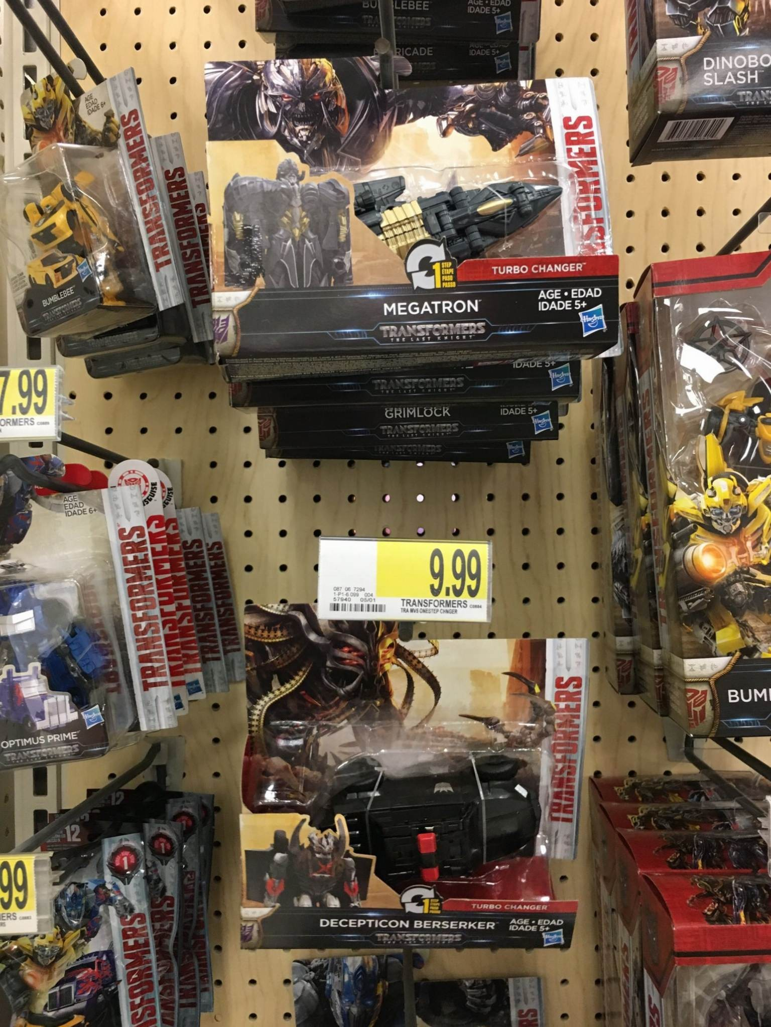 Transformers News: Transformers: The Last Knight One Step Changers Sighted in the US