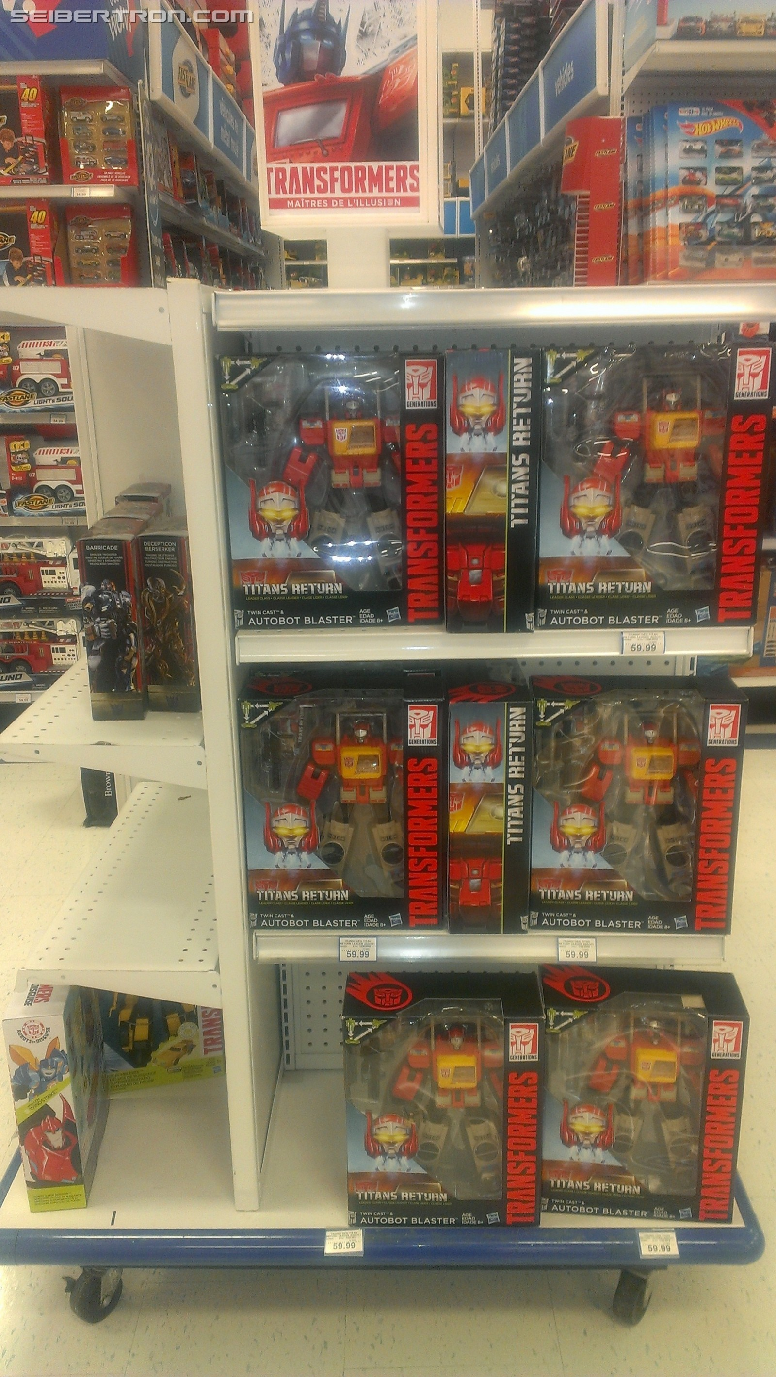 Transformers News: New Transformers Aisles Displays at Toysrus Canada