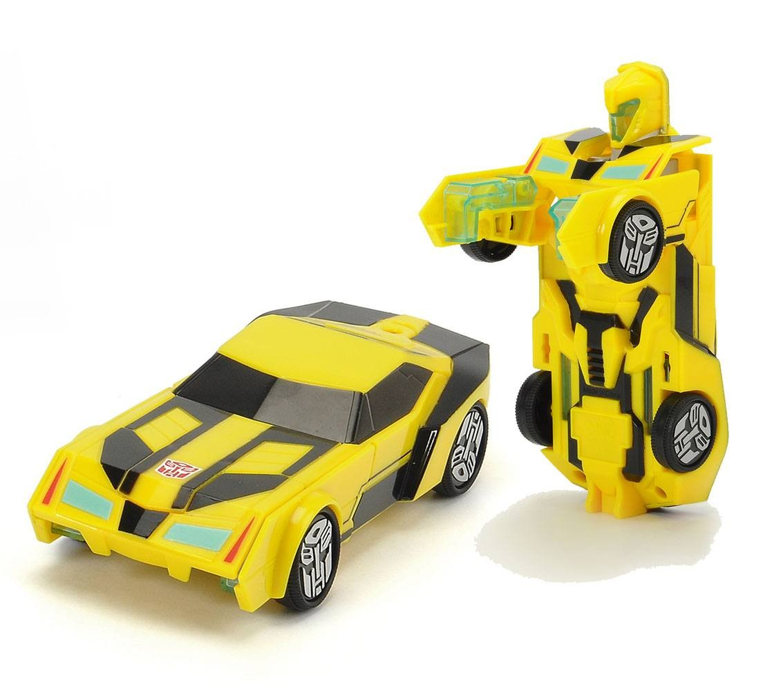 Transformers News: Images of Dickie Toys Transformers: Robots in Disguise R/C Grimlock and Bumblebee