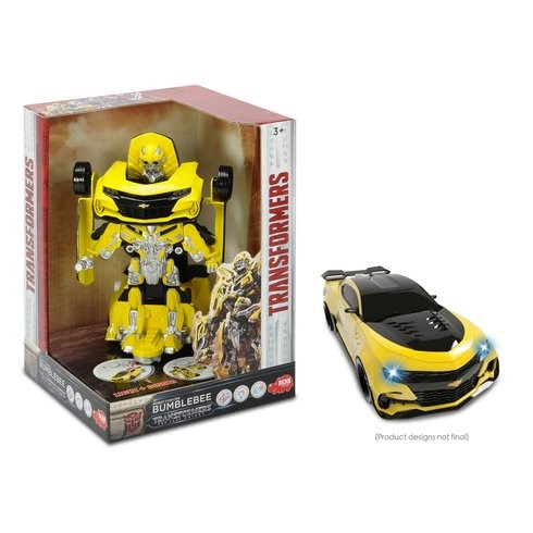 Transformers News: New Transformers The Last Knight Robot Fighter Bumblebee Toy Revealed