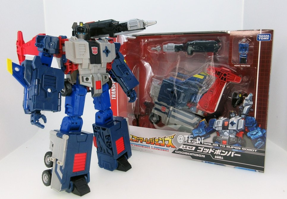 Transformers News: New Image of Takara Tomy Transformers Legends LG-42 Godbomber