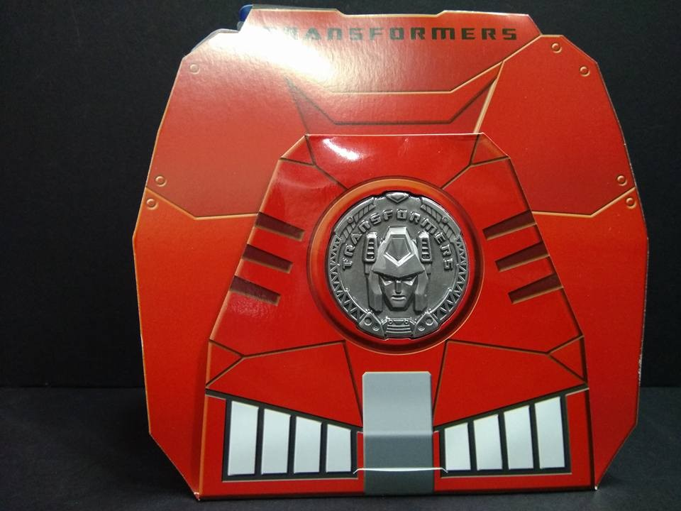 Transformers News: Collector Coin Images for Takara Tomy Transformers MP-37 Artfire