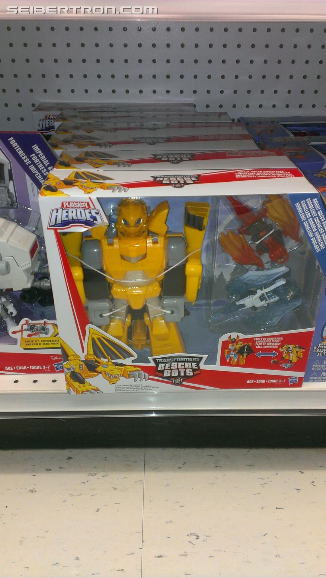 Transformers News: Transformers: Rescue Bots Knight Watch Bumblebee Found at Canadian Retail With Images of Box