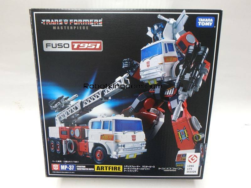 Transformers News: In-Package Images of Takara Tomy Transformers Masterpiece MP-37 Artfire