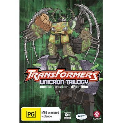 Transformers News: Transformers: Unicron Trilogy Boxset Australian Release