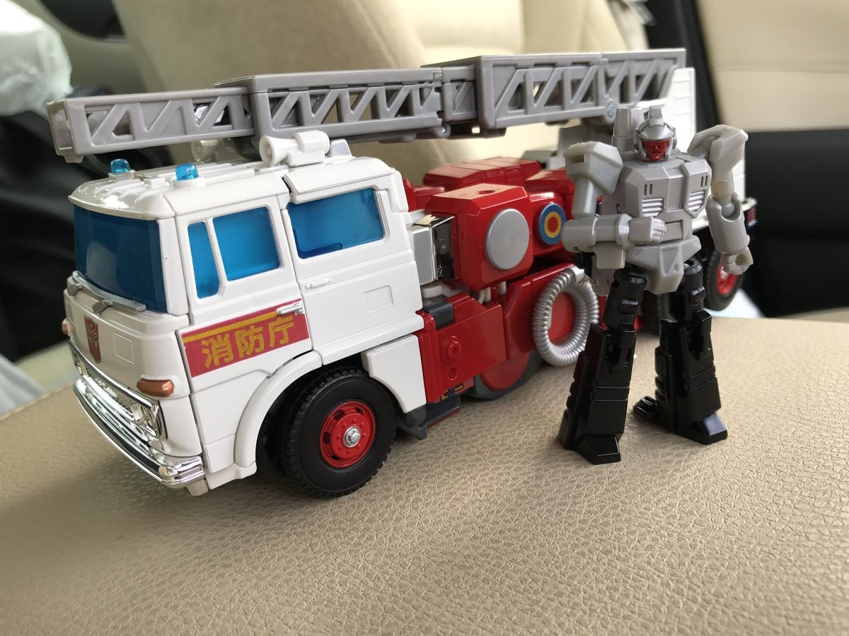 Transformers News: In-Hand Images of Takara Tomy Transformers MP-37 Masterpiece Artfire