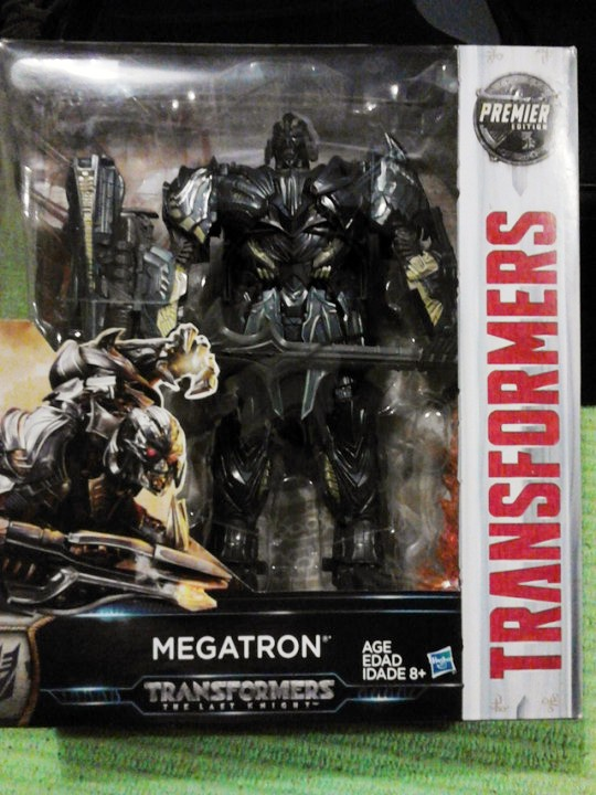 Transformers News: In-Hand Images of Transformers: The Last Knight Leader Megatron, Sighted at UK Retail
