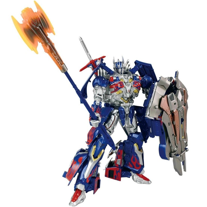 Transformers News: Official Images of Takara Tomy Transformers The Last Knight Calibur Optimus, Megatron
