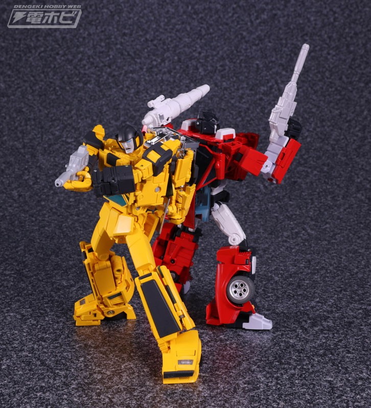 Transformers News: More image of Masterpiece MP-12+ Lambor (Cartoon-accurate Sideswipe)